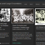 US Orchestras and Large Ensembles Database project